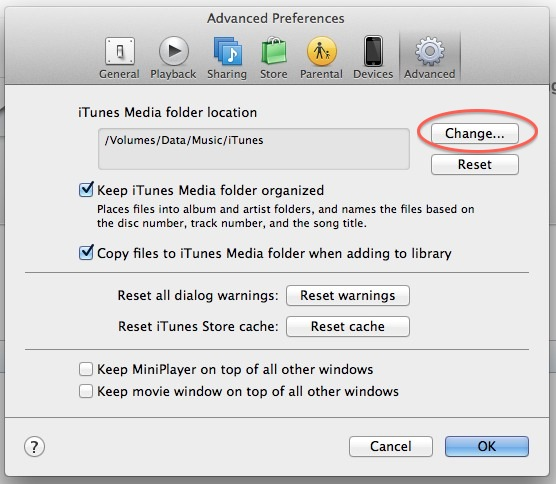 iTunes Library Change - Alvaro Matiz